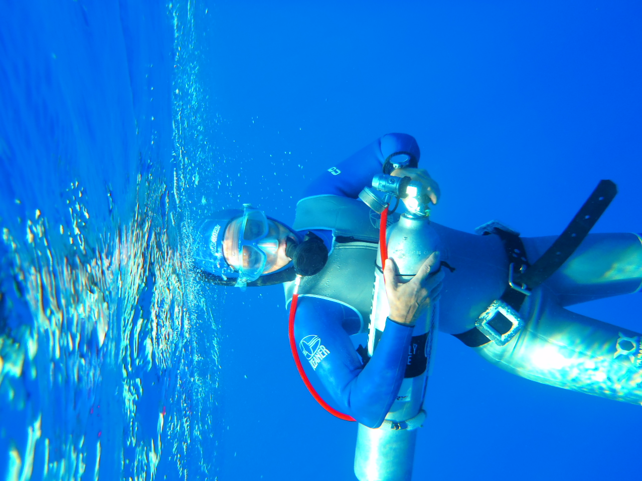 World Record Attempt In Freediving 2012